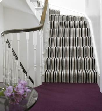 Landing carpet. All The Floors. Domestic and Commercial Flooring Specialists. Hertfordshire.