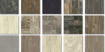 Flooring samples. All The Floors. Domestic and Commercial Flooring Specialists. Hertfordshire.