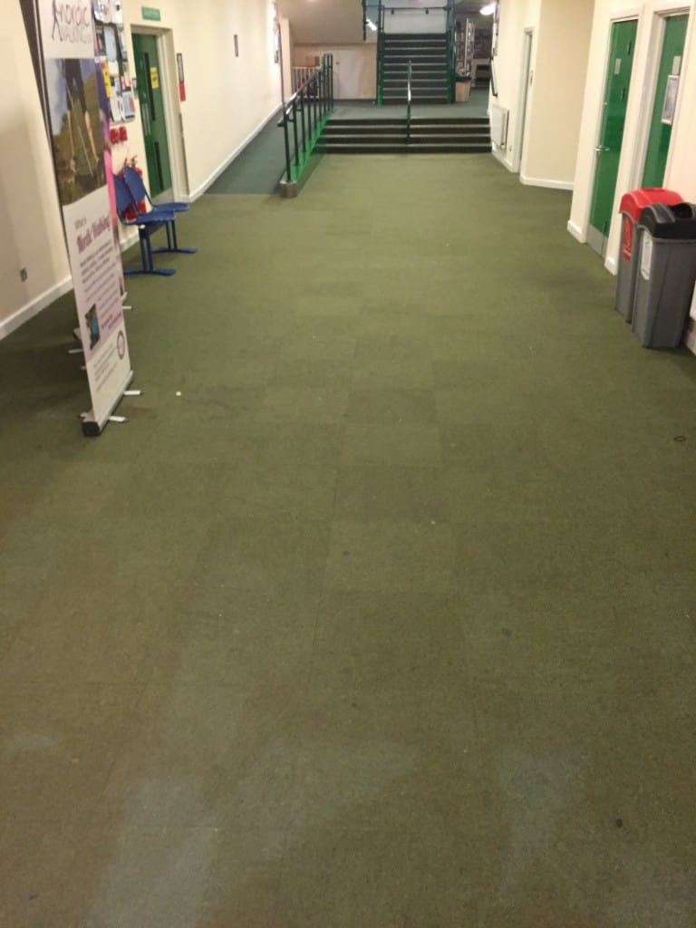 Examples of our work flooring projects all the floors wodson park ware before all the floors installed hard wearing floor tiles commercial flooring dailygadgetfo Images