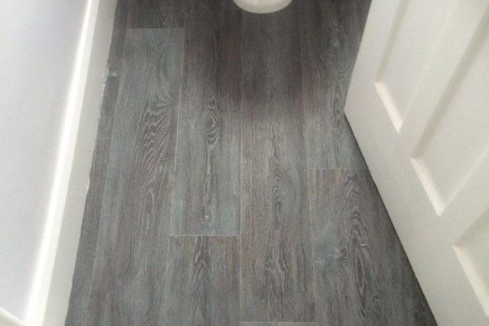 Wooden bathroom flooring. All The Floors, Domestic flooring specialists.