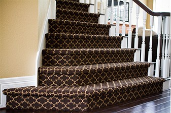 Luxury stair carpet. All The Floors. Domestic and Commercial Flooring Specialists. Hertfordshire.