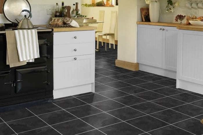 Kitchen tile flooring. All The Floors. Domestic and Commercial Flooring Specialists. Hertfordshire.