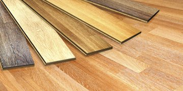 Laminate flooring samples. All The Floors. Domestic and Commercial Flooring Specialists. Hertfordshire.