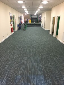 Wodson Park, Ware. Commercial Floor installed by All The Floors.