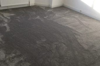 Domestic carpet installation by All The Floors