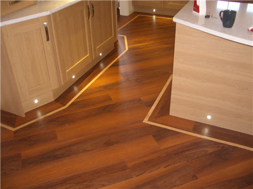Wooden kitchen flooring. All The Floors. Domestic Flooring Specialists.